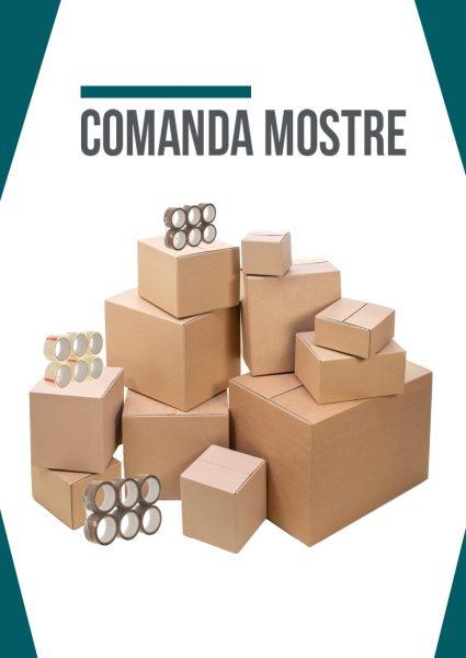 cutii de carton mostre