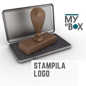 Stampila Fixa suport din lemn de la MyEbox,