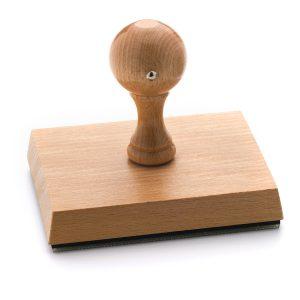 Stampila Fixa suport din lemn